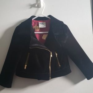 Girls velvet jacket